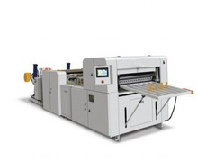 (One Roll) HQJ-A4 High-Precision Full Automatic A4 A3 Paper Cross Cutting Machine for Paper Board and Film