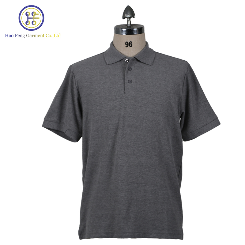 High quality 2017 most popular different color collar polo shirt