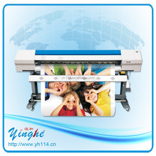 For small business economical 1.8m ECO solvent printer
