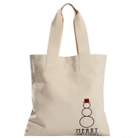 Recyclable and Eco-friendly canvas cotton shhopping tote bag