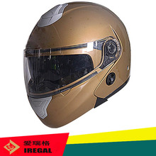 2016 new style ABS shell flip up motor cycle helmet for wholesale