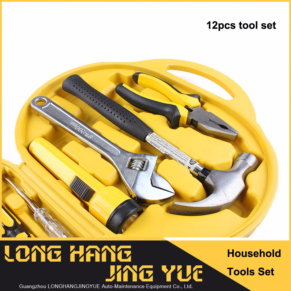 Household portable 80pcs tool set fast delivery machine repair hand tools set