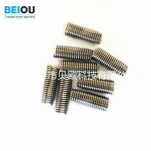 Professional blind hole threaded inserts fastener wire thread insert dead hole