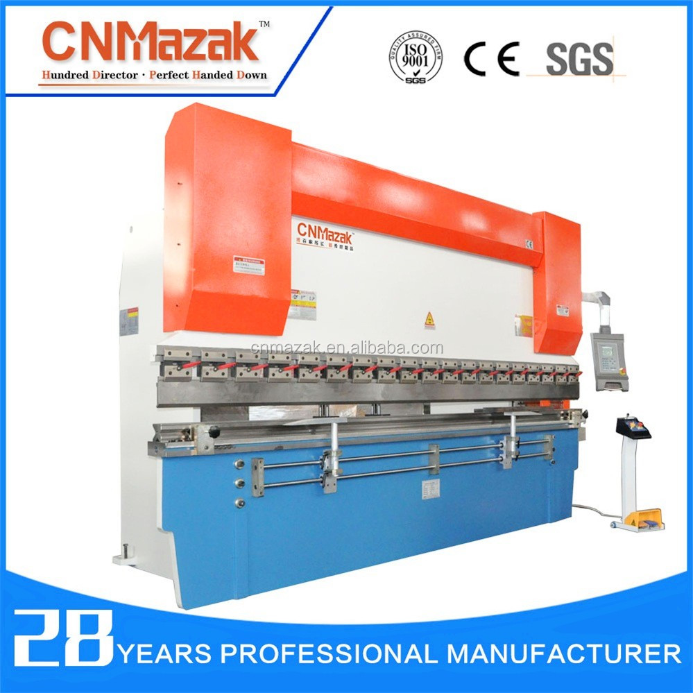 Nanjing 2016 New Design Hydraulic CNC Press Brake machine importer for stainless steel