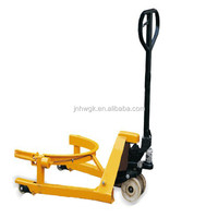 Oil Drum Manual Lifter/oil Drum Carrier Hydraulic Hand Operated Pallet Truck