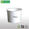 320cc white paper bowl 320ml disposable paper bowl 10oz white paper bowl