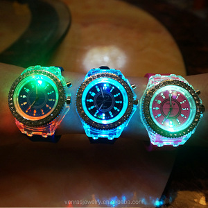 Casual Diamond Unisex Led Watch Geneva Student Watch