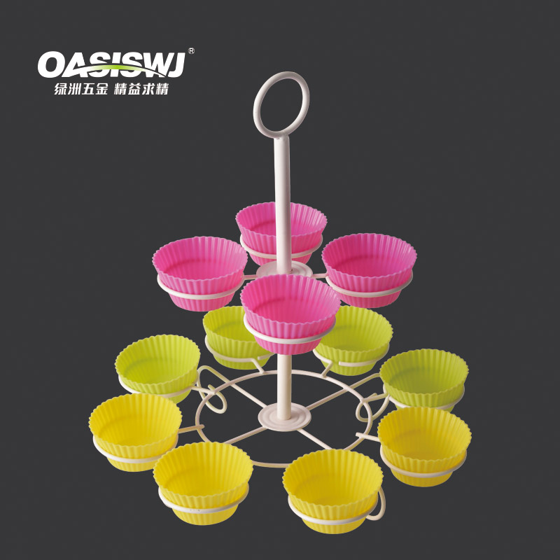 12pcs Cupcake Stand with Silicone cake cups