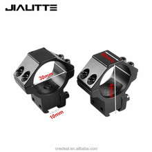 "Jialitte 30mm Rifle Scope 11mm 3/8 ""Dovetail Rail Mount Rings Low Medium High Profile Base for Air Gun Hunting Rifle J095"