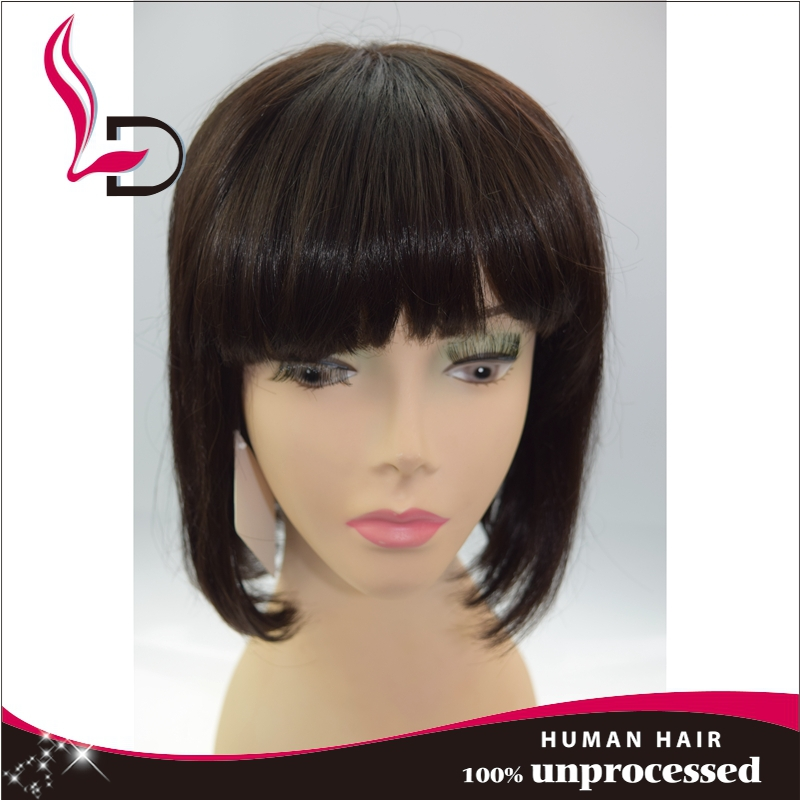 Top selling wholesale 100% remy natural human hair doll wig