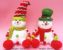 Christmas decoration, christmas sence article dolls, lovely snowman