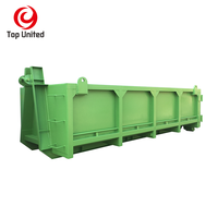 Australia New Zealand standard waste management hooklift hook lift bin