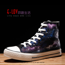 NO.Z101H Quality Assurance Hand printed Popular New Design Lowest price China Wholesale black canvas shoes no brand sneakers