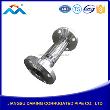 Flange fitting end gas heater stainless steel flexible metal hose for water oil gas