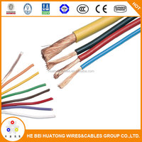 High quality 6.0mm RV flex single Wire with flexible electrical wire/cable made in China