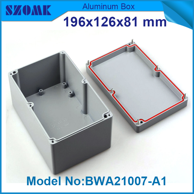 IP68 sealed waterproof tool equipments case aluminum safety portable box military equipment metal case for tools box