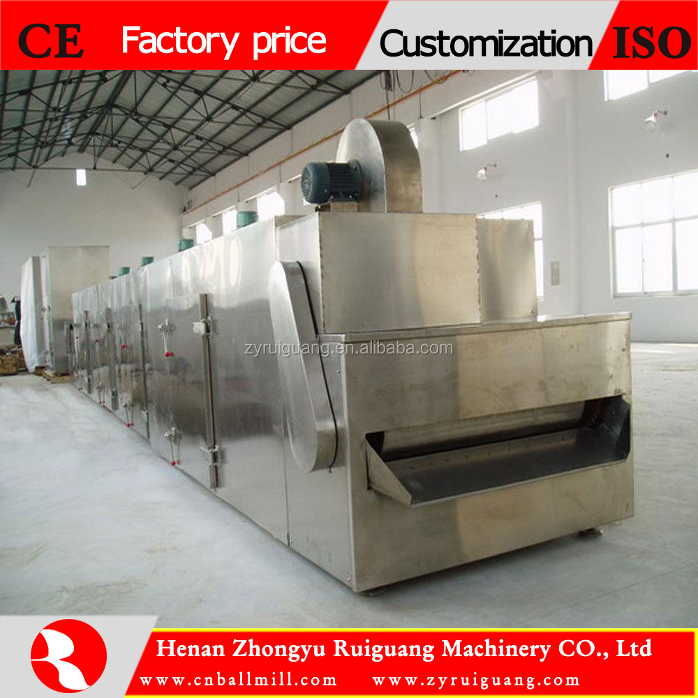 red chillis conveyor mesh belt dryer with factory price