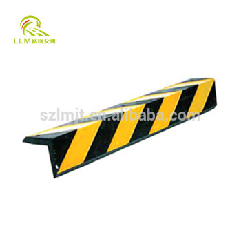 Reflective Rubber Parking Right Angle Corner Bumper Protector Guard Garage Wall Protector
