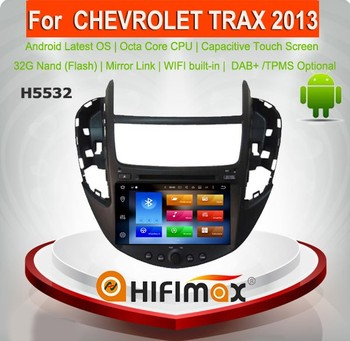 Hifimax Android 8.0 Car Radio DVD GPS For Chevrolet Trax 2013 Navigation System Octa Core WIFI Bluetooth