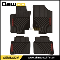 used for HYUNDAI I30 easy cleaning waterproof rubber car floor mat
