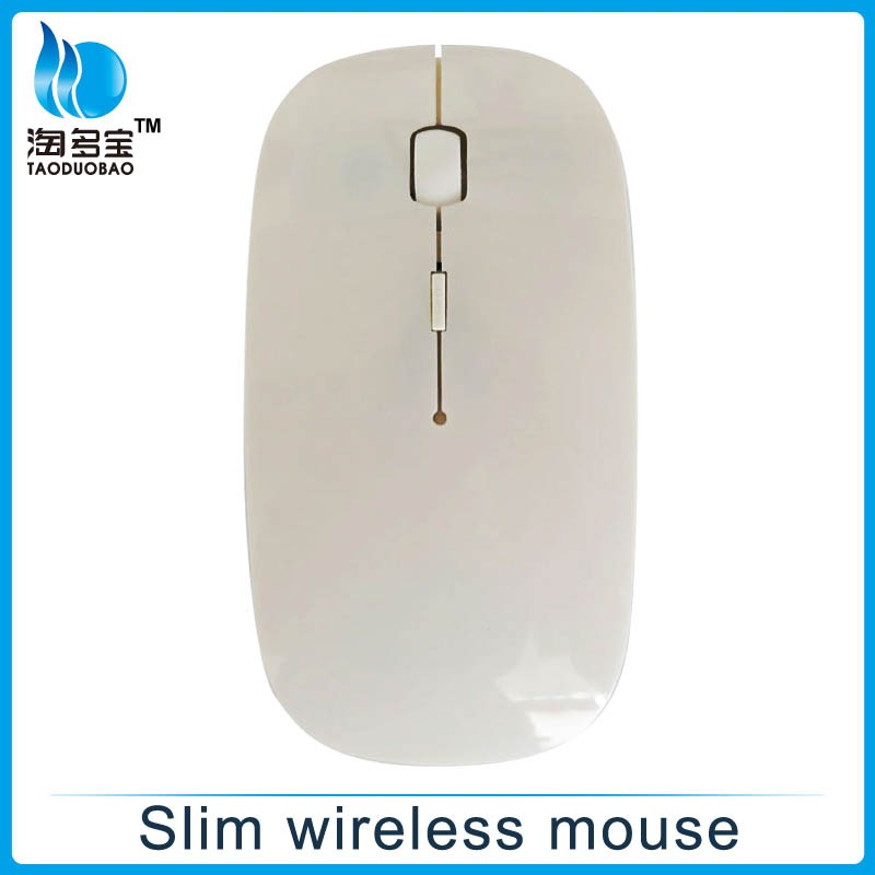 2.4G computer laptop wireless flat mouse, computer accessories mouse