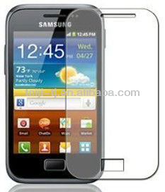 Samsung Galaxy Ace Plus S7500 Clear Screen Protector Guard / Film / Cover + Microfibre Cleaning Cloth
