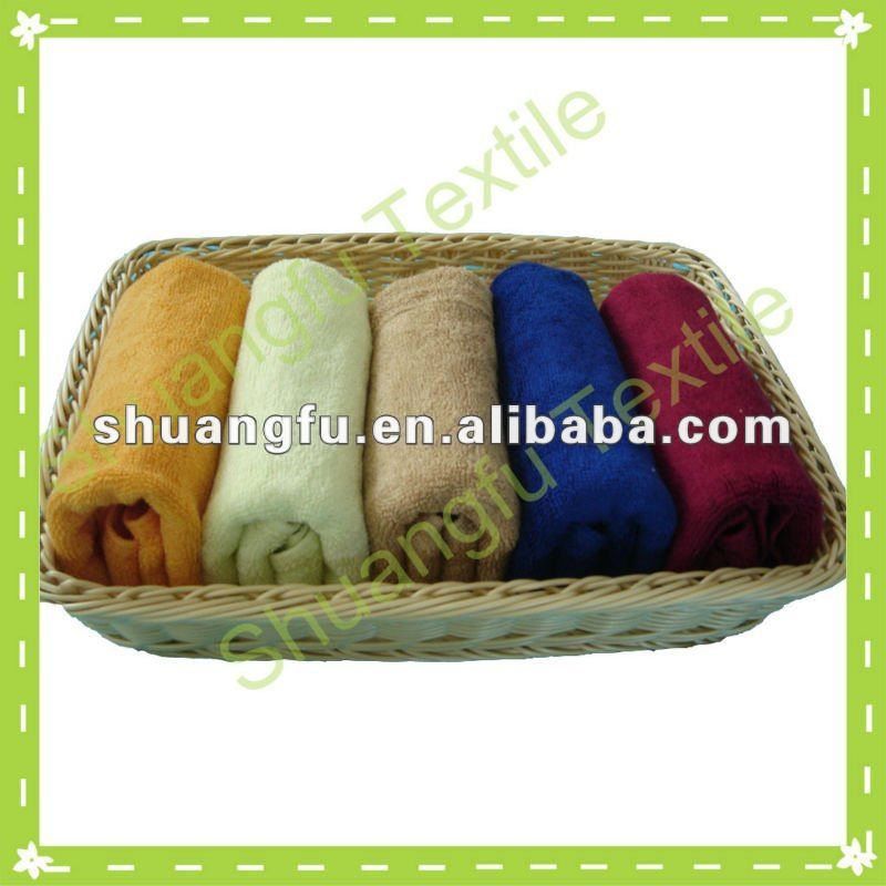 custom standard textile towels