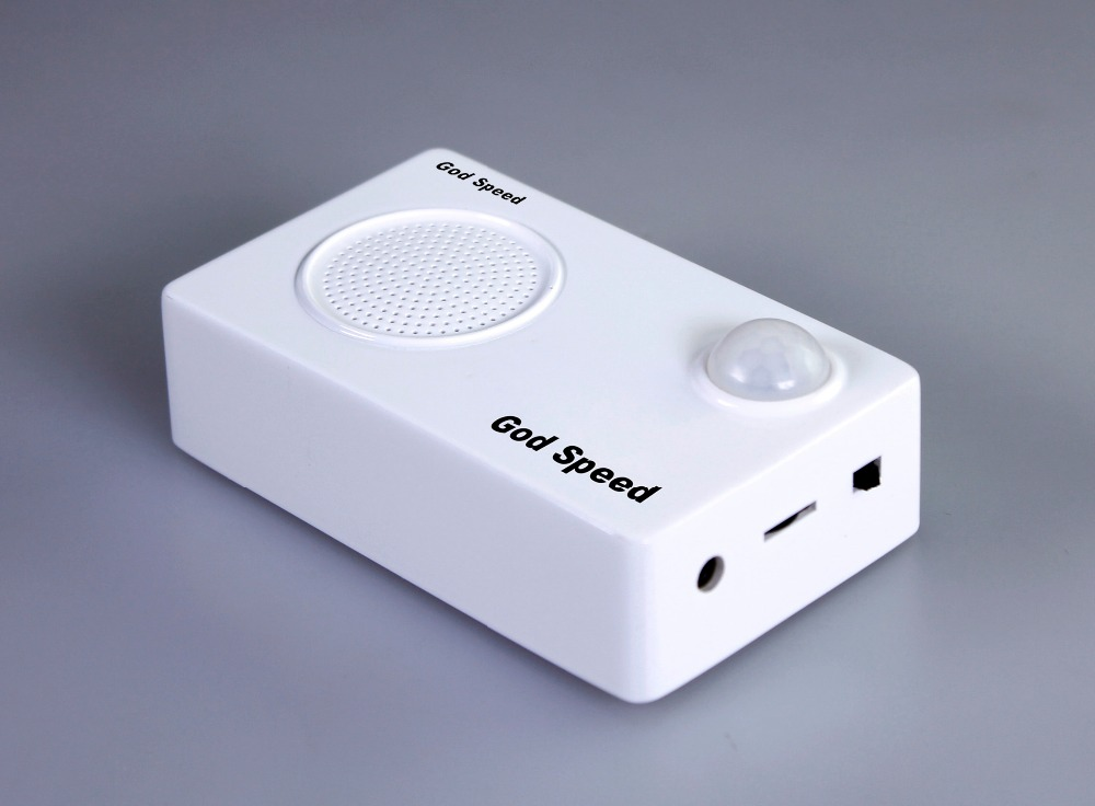 Fashionable teaching rechargeable portable mini sound box speaker motion sensor music player