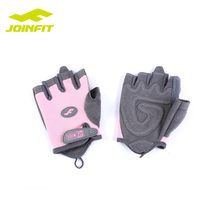 JOINFIT Gym leather custom weight lifting gloves fitness training gloves