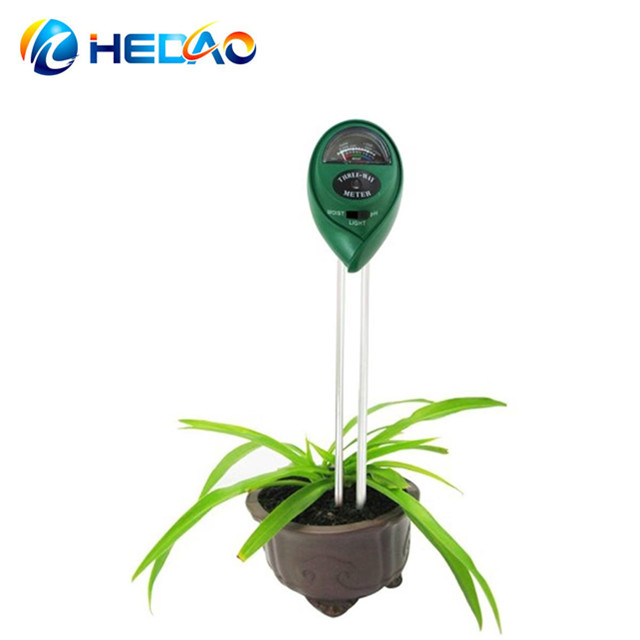 3 in 1 PH Soil Tester Moisture Light Sensor PH Meter for Garden Plant Flowers