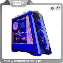 Factory price high-end wholesale glass computer cases custom branded pc case for sale