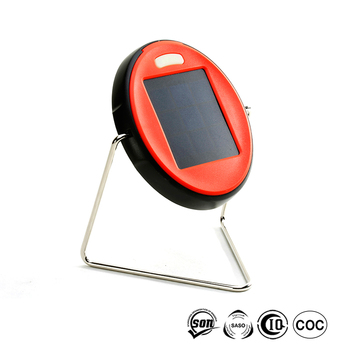 Small solar reading light for outdoor camping 2 years warranty