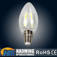 Low power consumption saloon candle shape high temperature bulb
