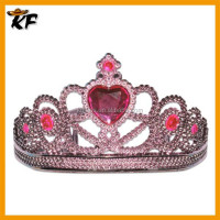 best sale plastic rhinestone star tiara and crown