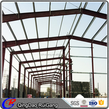 Low cost prefab industrial building construction steel structures