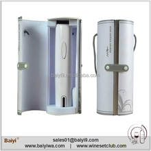 Fashion Pure White Automatic Electric Wine Bottle Opener With Foil Cutter
