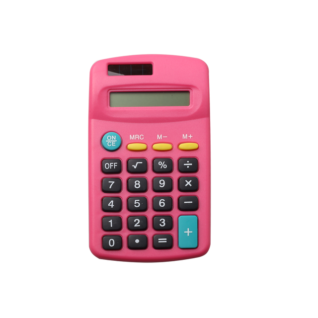 Promotional School Gifts Calculator with Solar Power