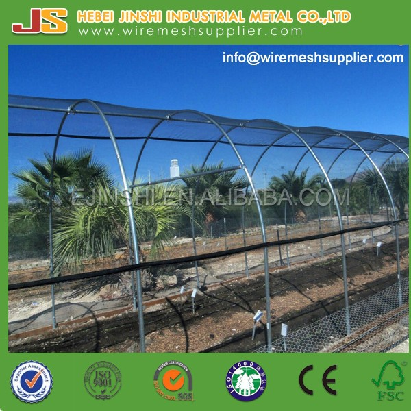 HDPE Round Wire Knitted Shade Net, Shade Net used in Tree Protection, Green <strong>Sun</strong> Shade Net