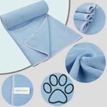 Sunland Microfiber Cat Dog Pet Bath Drying Grooming Towel