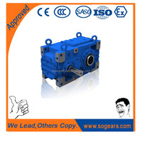 High efficiency DIN 5480 gearbox speed increaser H/B4 FV