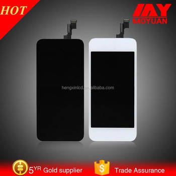 2015 newest mobile phone parts OEM for iphone 5 lcd unlocked . transparent lcd display for iphone 5s