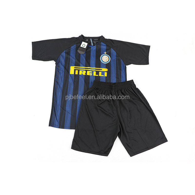 Club Soccer Uniform Men/kids Football Jersey with sublimation printing