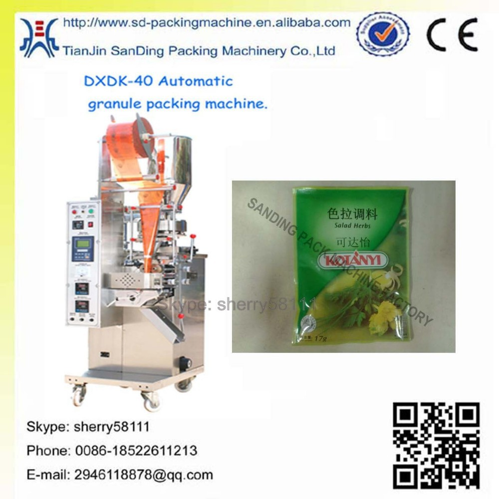 Manual food and medical packaging machine