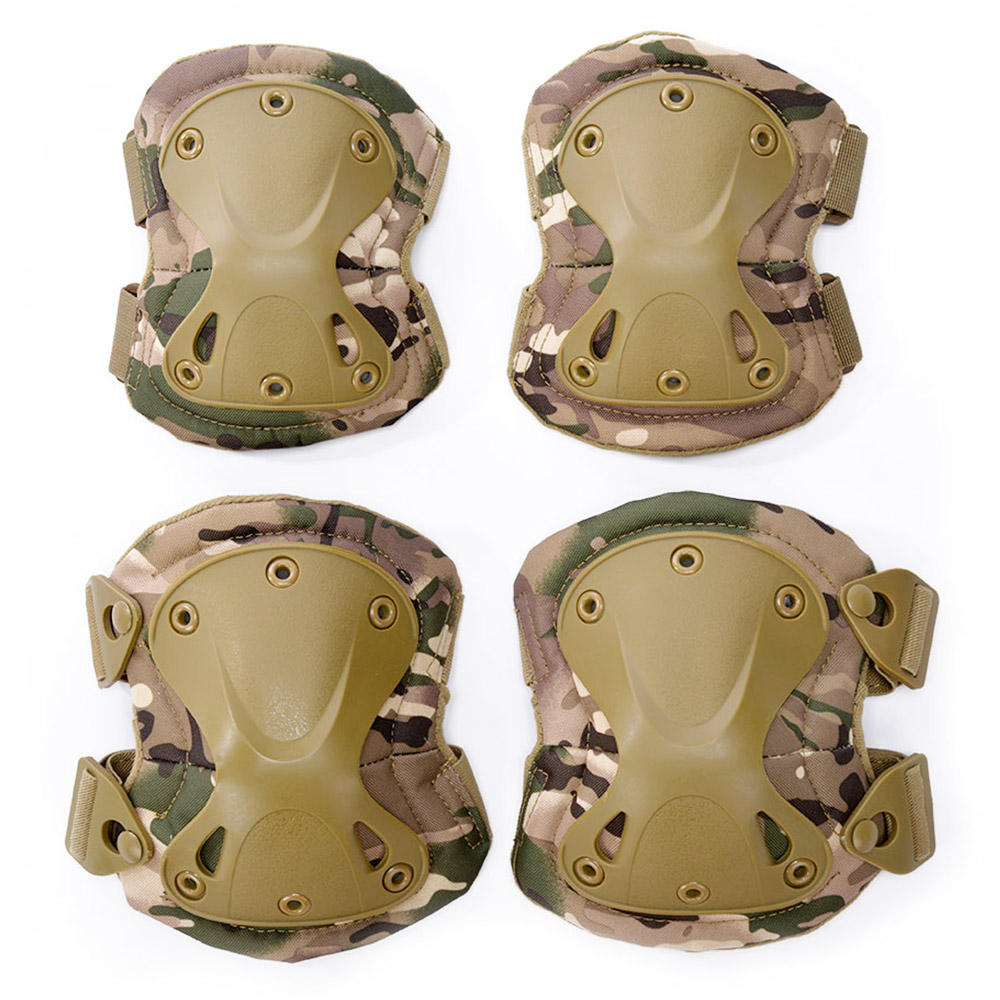 Military Tactical Protective Knee Pad Elbow Protector Gear Pads Knee Protector Hunting Skate Scooter Knee pads