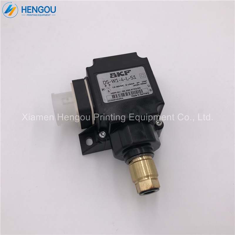 <strong>1</strong> Piece Printing Machine Parts Dedicated Oil Road Sensor 00.250.0722/<strong>03</strong> DS-W1-4-<strong>L</strong>-S1