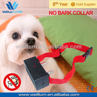 Not adjustable anti bark collar for puppy training pad