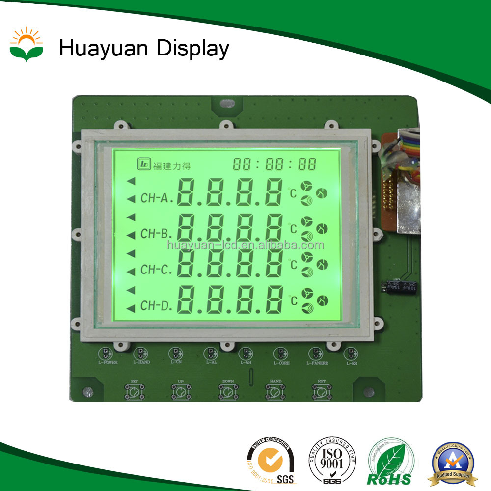 Car LCD Display LCD display with 6-pin