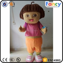 Party Dora Explorer cartoon character mascot costumes 090
