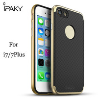 Ipaky Authorized Shockproof TPU PC Bumper Mobile Cell Phone Case For Iphone 5 5S Se 6 S 6S 7 8 Plus