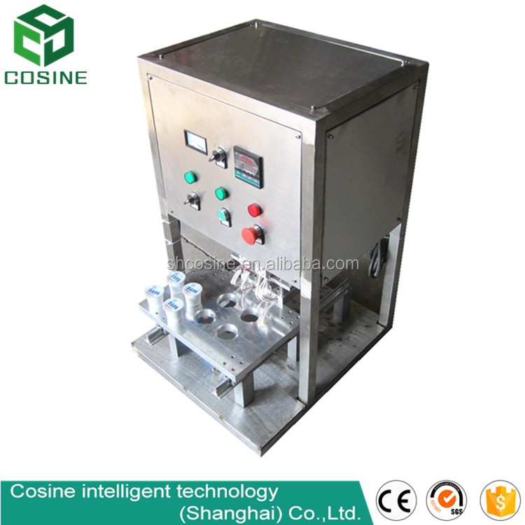 newest automatic bubble tea cup sealing machine selling well all over the world